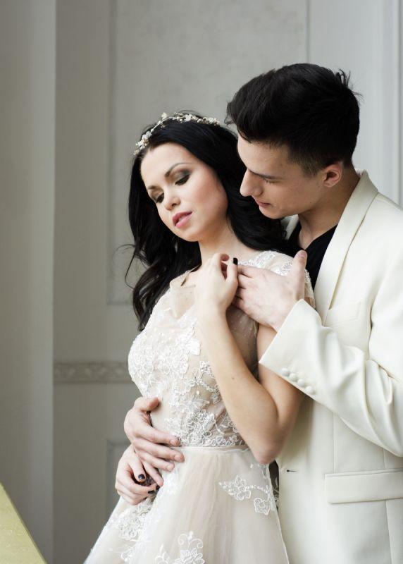 Смокинг Fabi белый Свадебный